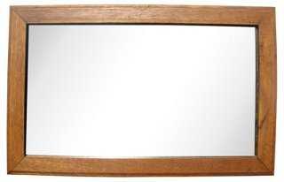 Arts & Crafts Golden Oak Mirror - One Kings Lane