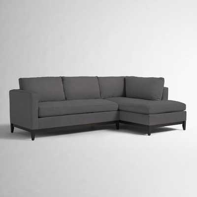 Blake Down-Filled 2-Piece Chaise Sectional - West Elm