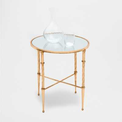 TABLE WITH TWISTED LEGS - Zara Home