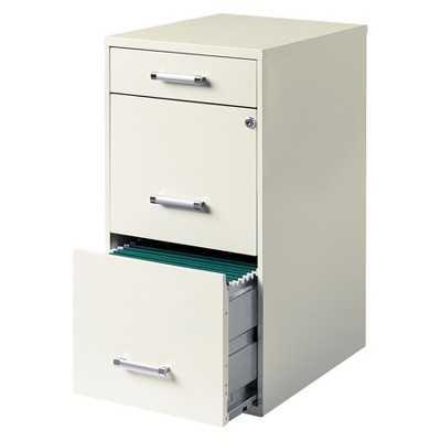 HIRSH 3-Drawer File Cabinet Steel - Target