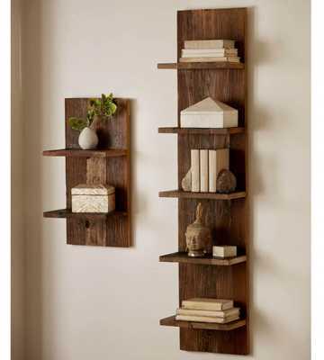 Reclaimed Elm Modular Shelf - Small - vivaterra.com