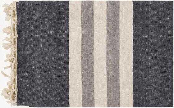 Hanover Cotton Throw - Grey - Home Decorators