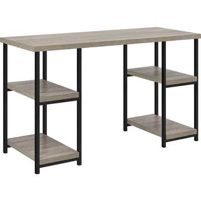 Altra Elmwood Double Pedestal Desk - Overstock