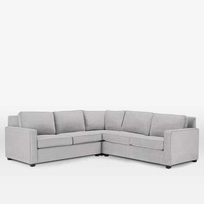 Henry® 3-Piece L-Shaped Sectional - West Elm