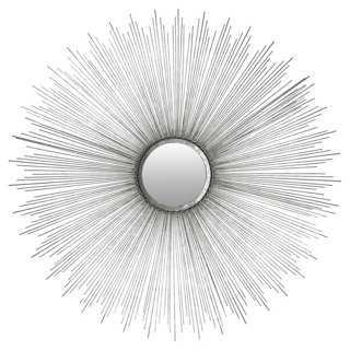 Sunburst Wall Mirror, Iron - One Kings Lane