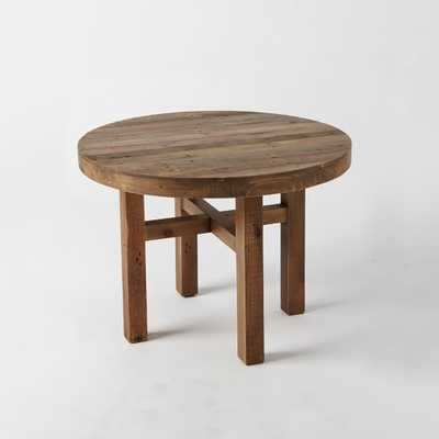 Reclaimed Wood Round Dining Table - West Elm