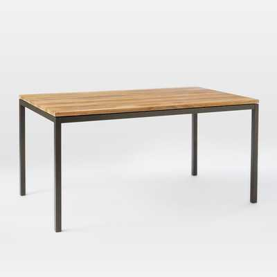 "Box Frame Dining Table - 72"", Raw Mango - West Elm"
