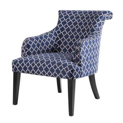 Alexis Rollback Arm Chair - Wayfair