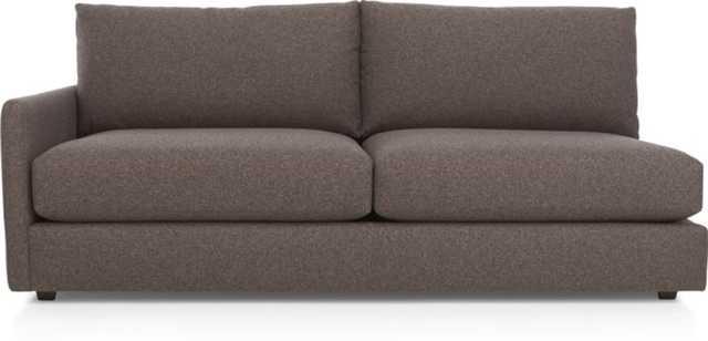 Drake Left Arm Sofa - Crate and Barrel