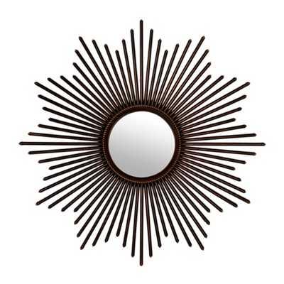 Bronze Starburst Mirror - kirklands.com