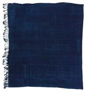 African Tribal Indigo Textile Throw - One Kings Lane