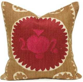 Royal Suzani Mandala Pillow - One Kings Lane