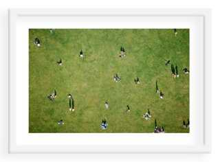"""Central Park Aerial- 24"""" x 17""""- Framed - One Kings Lane"""
