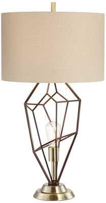 Franklin Iron Works Shane Nightlight Table Lamp - Lamps Plus
