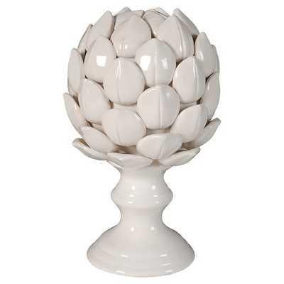 Ceramic Artichoke Figurine - White - Target