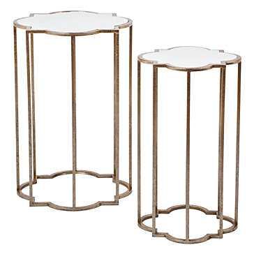 Quatrefoil Tables - Set of 2 - Z Gallerie