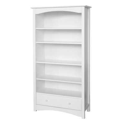 "MDB 70.25"" Standard Bookcase - White - Wayfair"