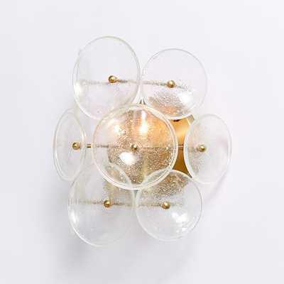 Glass Disc Sconce - West Elm