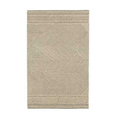 Beckett Hooked Chevron Rug - Grey - 9' x 12' - Ballard Designs