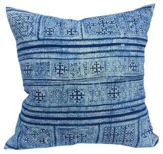 Tribal Batik Pillow - One Kings Lane