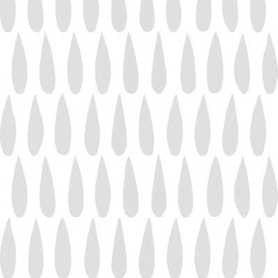 Drops - Rain - Walnut Wallpaper