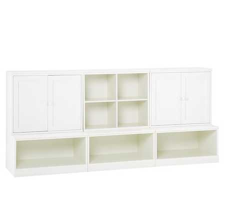 Cameron Low Storage System With Open Bases - Pottery Barn Kids