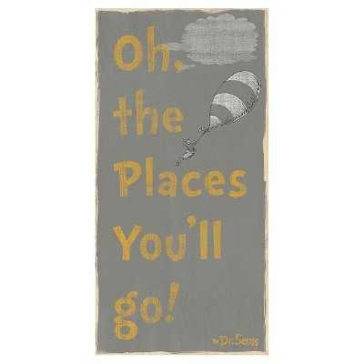 Dr. Seuss Oh The Places You'll Go Wood Box - Target