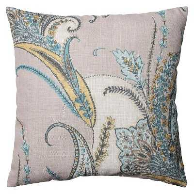 "Pillow Perfect Rimby Dune Throw Pillow - 18"" x 18"" - Polyester fill - Target"