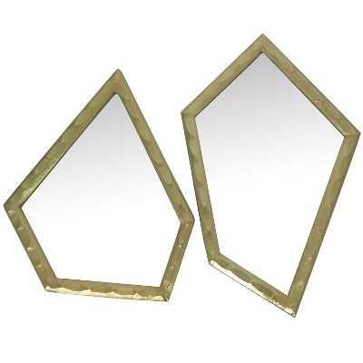 "Nate Berkusâ""¢ Asymmetrical Mirror - Set of 2 - Target"