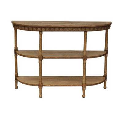 Wood Console Table - Wayfair