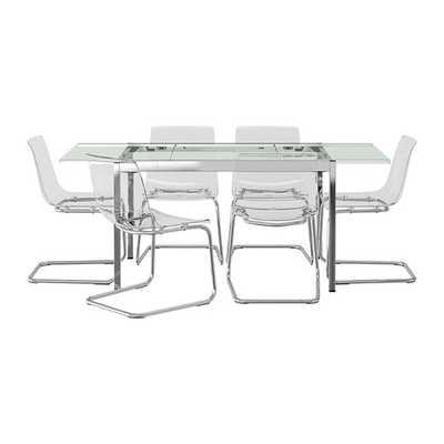 GLIVARP / TOBIAS Table and 6 chairs - Ikea