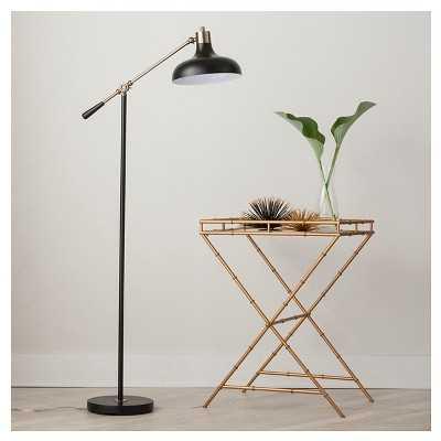 Crosby Schoolhouse Floor Lamp - Black (Includes CFL Bulb) - Target
