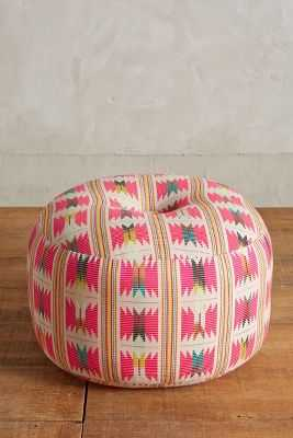 Flutura Pouf - Pink - Anthropologie