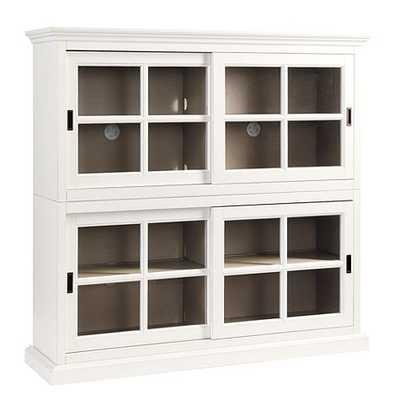 Cortona Bookcase - Rubbed White - Ballard Designs