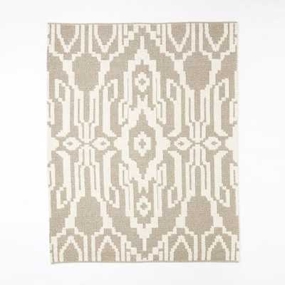 Signet Wool Rug - Heather Gray - West Elm