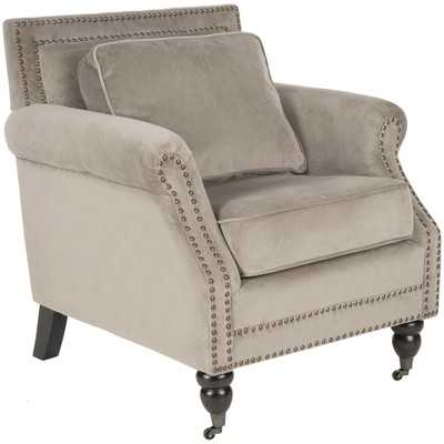 Karsen Club Chair - Mushroom Taupe - Wayfair