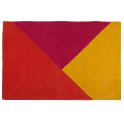Red Triangle Rad Kids Rug - Domino