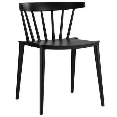 Spindle Side Chair - Black - AllModern