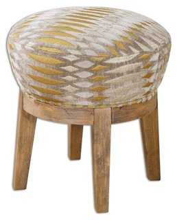 Micah Swivel Stool - One Kings Lane