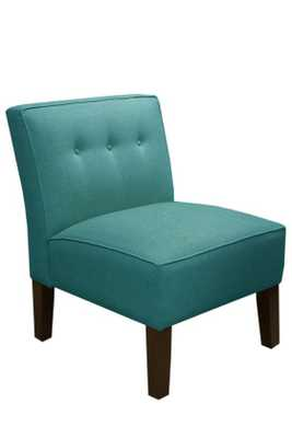 CUSTOM BECK UPHOLSTERED ARMLESS CHAIR - Home Decorators