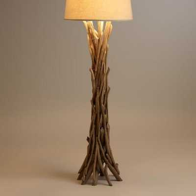 Driftwood Floor Lamp Base - World Market/Cost Plus