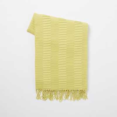 Perfect Throw - Sun Yellow - West Elm