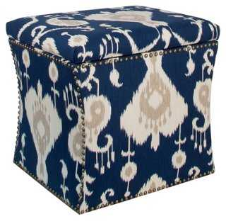 Merritt Storage Ottoman - One Kings Lane