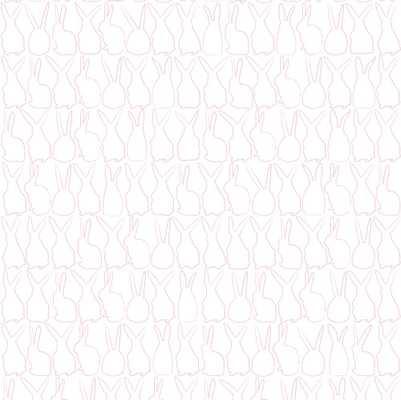 Hop - Candy - Walnut Wallpaper