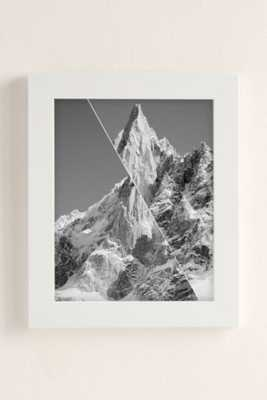 """Gwui Untitled Mountain Framed Art Print - 30"""" x 40"""" - Urban Outfitters"""