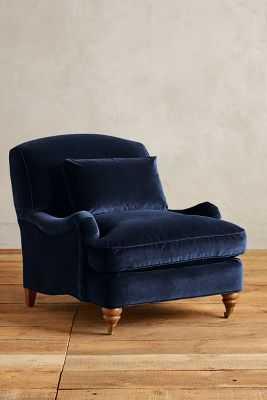 Velvet Glenlee Chair - Anthropologie