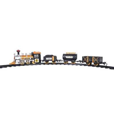 Super Train set, 12pc Super Long Set W Train Station - Amazon