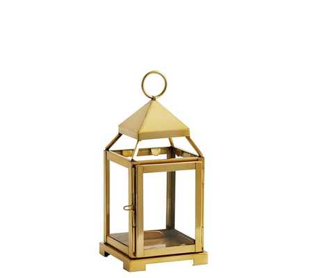 MALTA BRASS LANTERN - SMALL - Pottery Barn