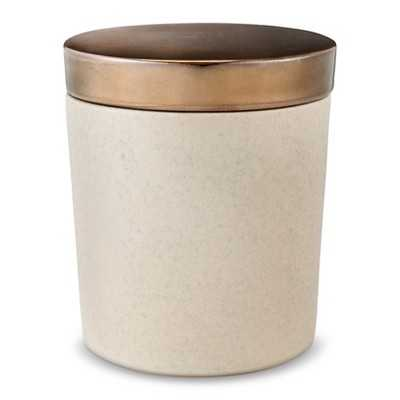 Cement Canister Warm Metal - Threshold - Target