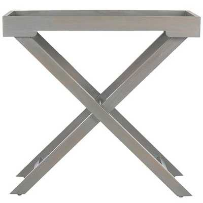 IRWIN ACCENT TABLE - French grey - Home Decorators